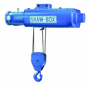 Shaw-Box 700 Series Electric Wire Rope Hoist