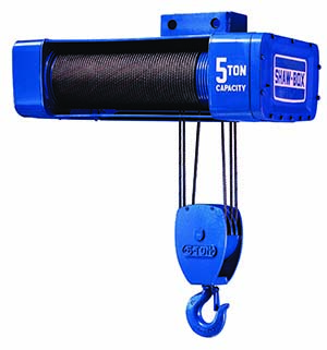 Shaw-Box 800 Series Electric Wire Rope Hoist