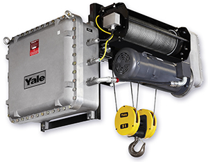 Yale Global King Explosion Proof Wire Rope Hoist