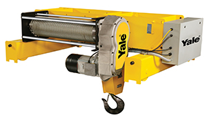 Yale Global King Top Running Wire Rope Hoist